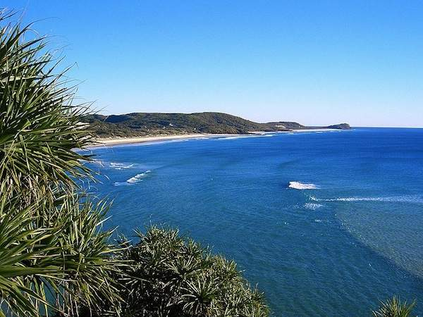 photo of Fraser Island from the Indian Head