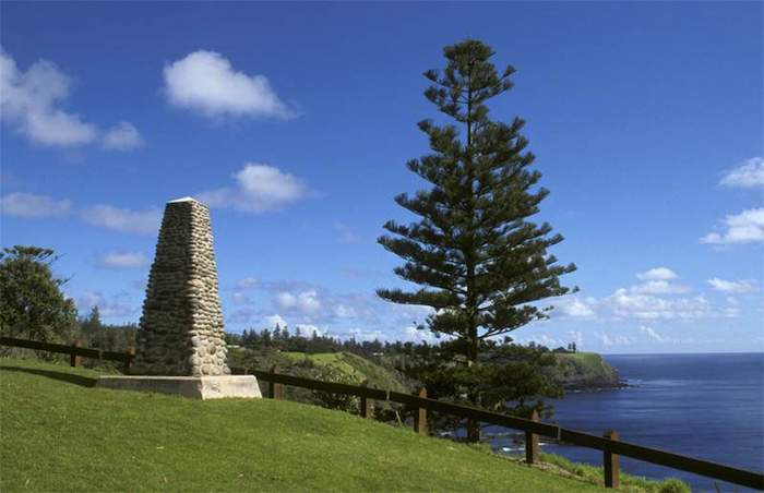 Photo of Cook's Monument, Norfolk Island